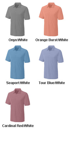 Mens CB DryTec™ Blaine Oxford Polo in Big and Tall sizes - All Colors