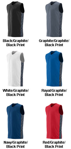 Adult Fast Break Game Basketball Jersey - All Colors