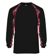 Badger Mens Digital Hook Long Sleeve Tee