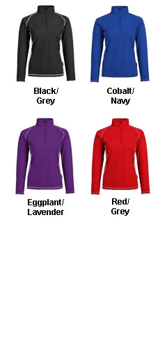 Ladies Mid Baselayer Pullover - All Colors