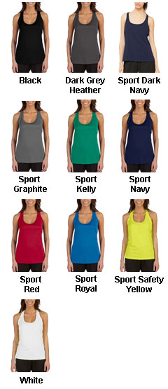 All Sport Ladies Performance Racerback Tank - All Colors