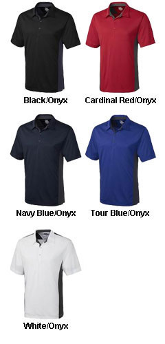 Mens DryTec� Willows Color Block Polo - All Colors