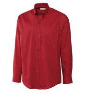 Mens Big and Tall Epic Easy Care Nailshead Shirt by Cutter & Buck