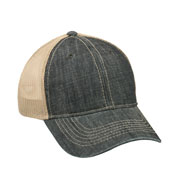Denim Mesh Back Cap