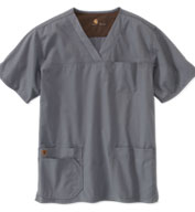 Carhartt Medical® Mens Ripstop Multi-Pocket Scrub Top