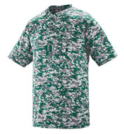 Digi Camo Youth Two-Button Jersey