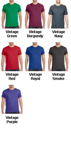 Vintage Fine Jersey T-Shirt - All Colors