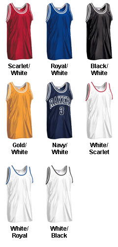 Custom Adult Old School Basketball Jersey - All Colors