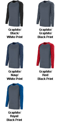 Youth Fast Break Long Sleeve Jersey - All Colors