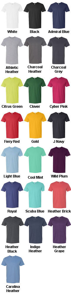 Fruit of the Loom Sofspun™ Cotton Jersey T-Shirt - All Colors
