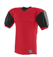 Youth Red Zone Football Jersey with Contrast Sleeves