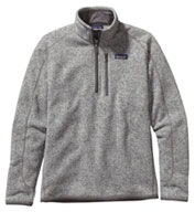 Mens Patagonia Better Sweater® 1/4 Zip Pullover
