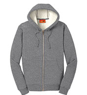 Cornerstone® Heavyweight Sherpa-Lined Hooded Fleece Jacket