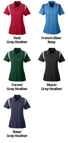 Ladies Drytec20™ Performance Colorblock Polo - All Colors