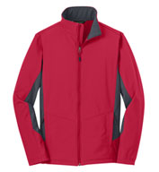 Adult Core Colorblock Soft Shell Jacket in Tall Sizes