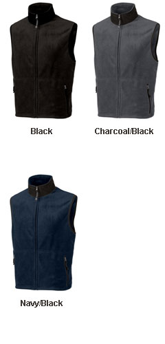Mens Ridgeline Fleece Vest - All Colors