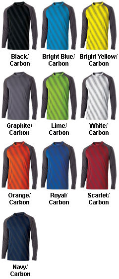 Adult Long Sleeve Torpedo Shirt - All Colors