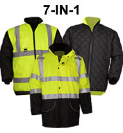 Class 3 7-IN-1 All Seasons Waterproof Jacket