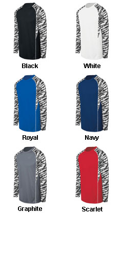 Youth Evolution Print Long Sleeve - All Colors