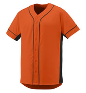 Adult Full Button Slugger Jersey