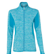 Womens Space Dyed Full-Zip Jacket by Adidas