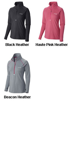 Columbia Ladies Trail Summit Half-Zip Pullover - All Colors