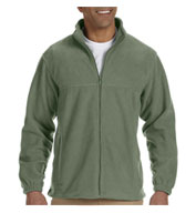 Mens Tall Full-Zip Fleece Jacket
