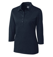 Ladies CB DryTec™ 3/4 Sleeve Chelan Polo