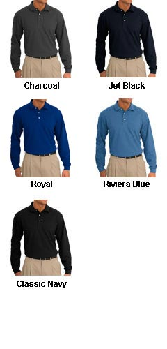 Tall Rapid Dry™ Long Sleeve Polo - All Colors