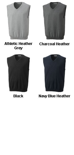 Mens Broadview V-neck Sweater Vest - All Colors