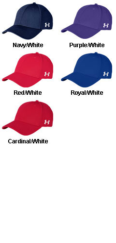 Under Armour Curved Billed Solid Cap - All Colors