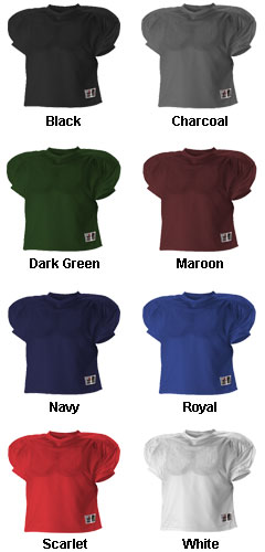 Youth Football Practice Jersey - All Colors