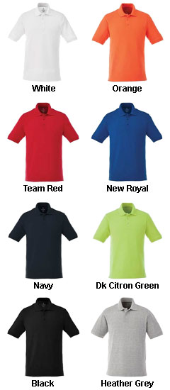 Mens Belmont Short Sleeve Polo - All Colors