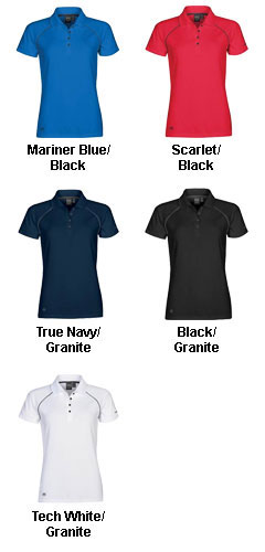 Womens Piranha Performance Polo - All Colors