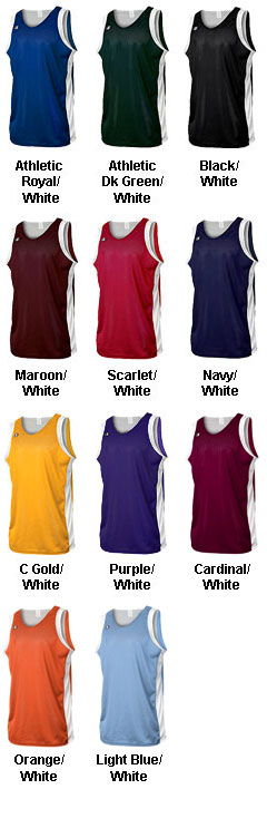 Youth Champion Athletics Reversible Basketball Jersey - All Colors