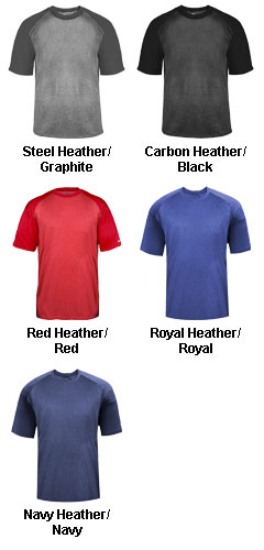 Adult Sport Heather Tonal Tee - All Colors