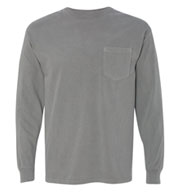Adult Long-Sleeve Pocket T-Shirt