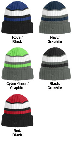 New Era® Ribbed Tailgate Beanie - All Colors