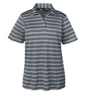 Ladies Under Armour Tech Stripe Polo