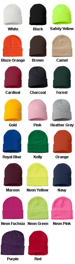 Sportsman 12 Inch Knit Beanie - All Colors