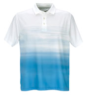 Vansport™ Pro Ombre Print Polo