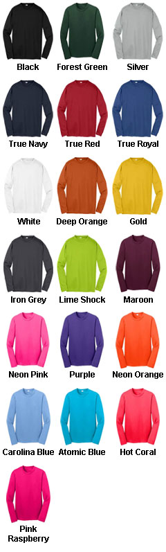 Sport-Tek® Youth Long Sleeve PosiCharge® Competitor™ Tee - All Colors