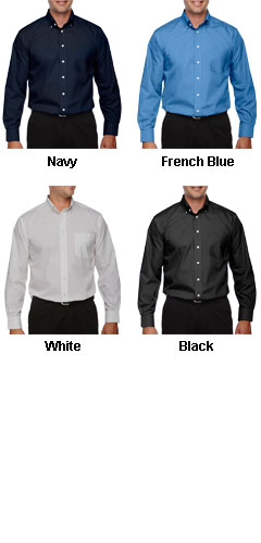 Mens Tall Performance Solid Broadcloth Dress Shirt - All Colors