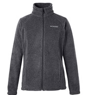 Columbia Womens Benton Springs Full-Zip Fleece