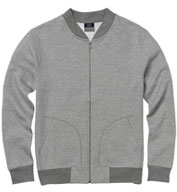 Adult Asher Fleece Bomber Sweatshirt