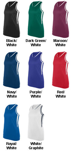 Girls Full Force Jersey Tank - All Colors