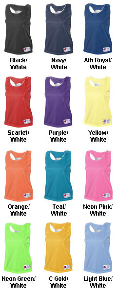 Champion Girls Reversible Pinnie - All Colors