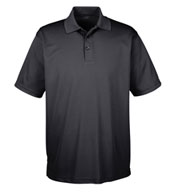 UltraClub Mens Tall Cool and Dry Mesh Pique Polo