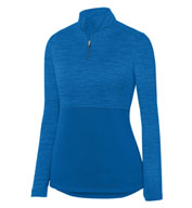 Ladies Shadow Tonal Heather 1/4 Zip