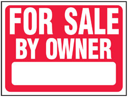 Sign For Sale Owner